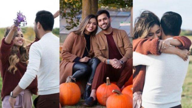 Zaid Ali And Yumnah Share Romantic Photos