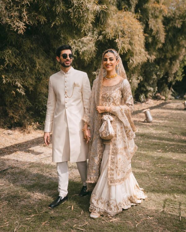 Rehmat Ajmal Ties The Knot Wedding Photos