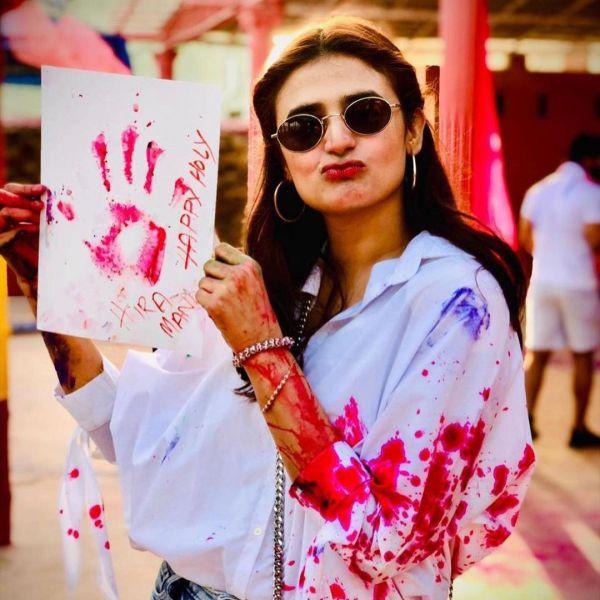 Hira Mani Bashed For Dancing At A Holi Party