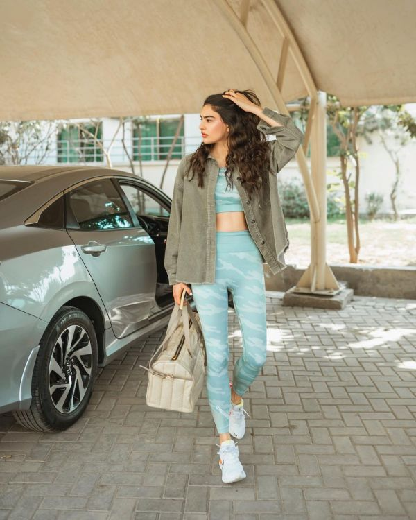 Actress and Model Saheefa Jabbar Clicks in Club Wear