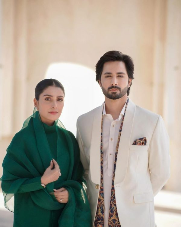 Ayeza And Danish Pose In Eastern Attire For Latest Project