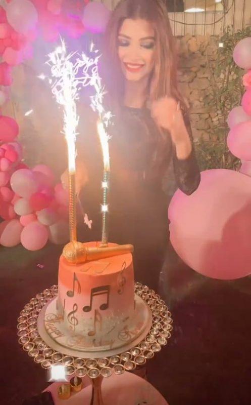 Actress Kinza Hashmi Birthday Bash With Celebrities