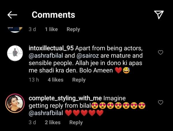 Pakistani model Syra Yousuf and Bilal Ashraf Dating Each other