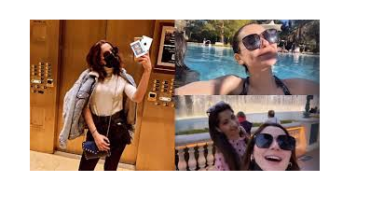 Actress Hania Amir Recent Trip To Las Vegas