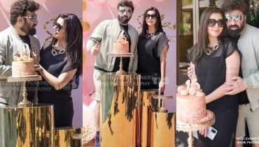 Nida Yasir & Yasir Nawaz celebrate daughter birthday in Dubai