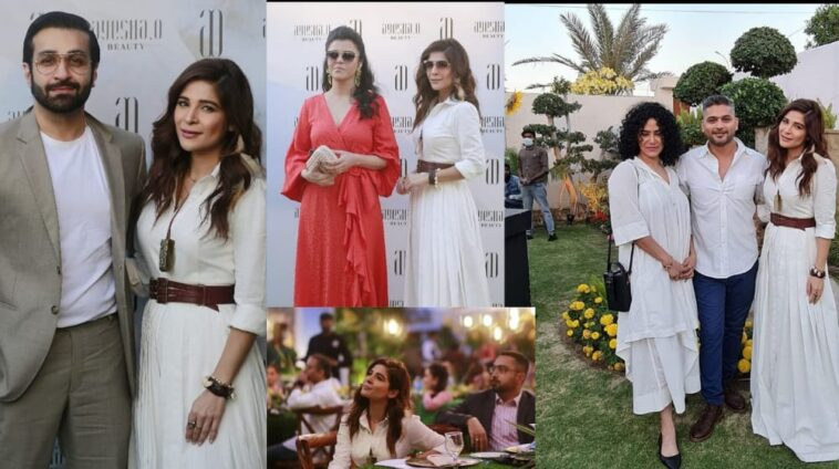 Popular Pakistani Actress Ayesha Omar Launch Her Beauty Line
