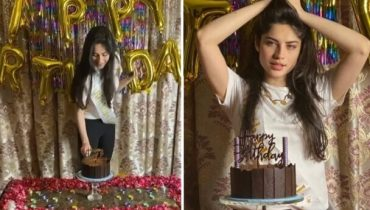 Neelam Muneer Khan Celebrates Her Surprise Birthday