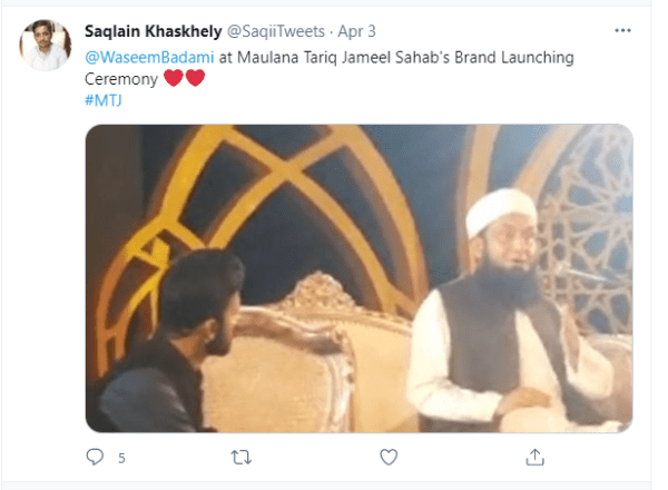 Maulana Tariq Jameel Launch His Brand at an Impressive Event