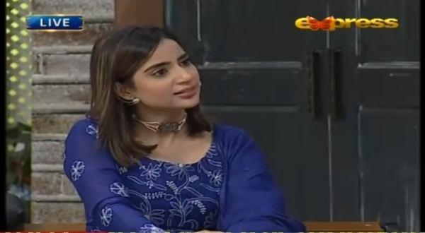 Saboor Aly Taunted Aamir Liaquat In Jeeway Pakistan Show