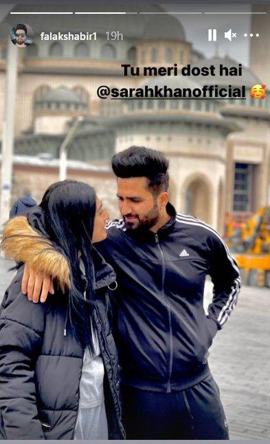 Falak Shabir And Mrs. Falak Look Adorable