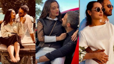 Momal Sheikh And Husband Hot Photoshoot