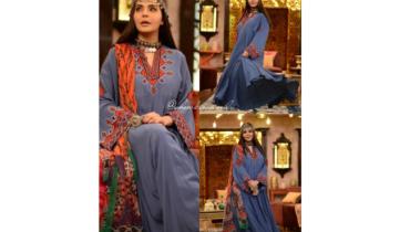 Nida Yasir Is On The Set Of Good Morning Pakistan