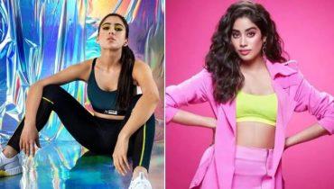 Sara Ali Khan & Janhvi Kapoor set Goals in Viral Workout Video