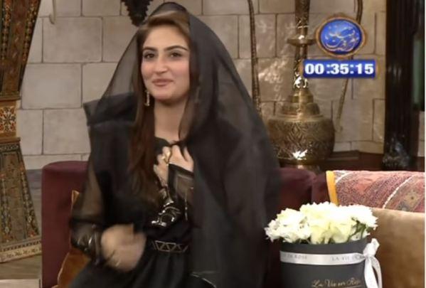 Hiba Bukhari In Her Melodious Voice Recites Naat