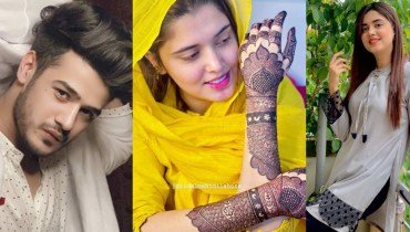 Tiktoker Kanwal Aftab is Getting Ready for her Mayoun