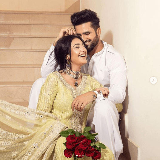 Sarah Khan Shares Her Love Story With Falak Shabir