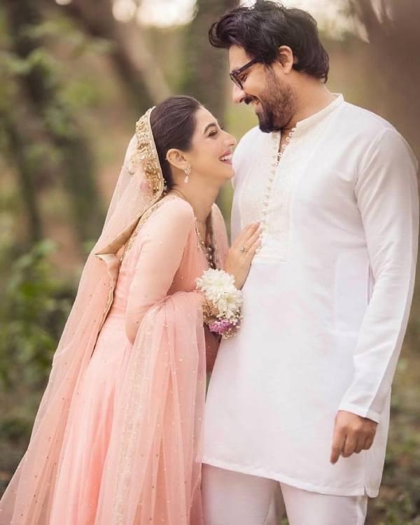 Pakistani Actress Mariyam Nafees Ties The Knot With Amaan Ahmed