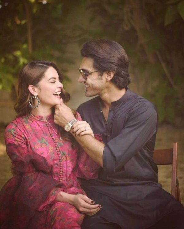 Minal And Ahsan Faces Criticism On Their Recent Pictures