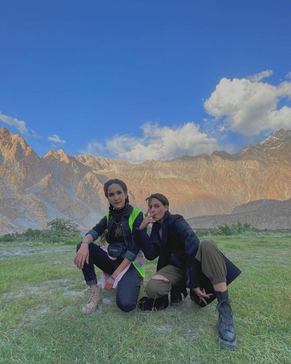Anoushay Abbasi vacationing in the Northern areas of Pakistan