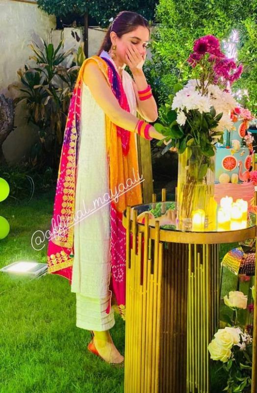 Netizens Criticism On Maya Ali Holi Themed Birthday Party
