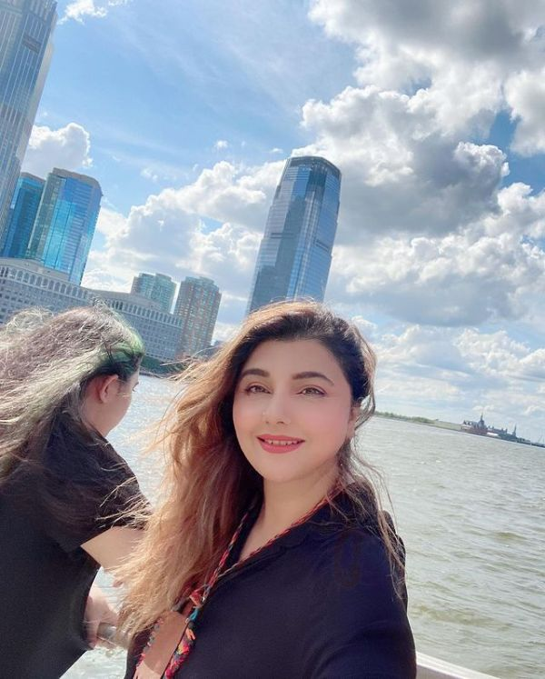 Javeria Saud Glimpses from her vacation In New York