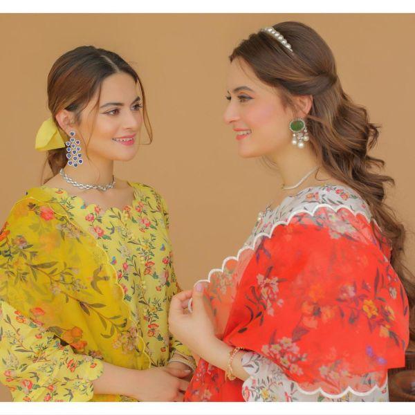 Aiman & Minal Copying Designs from Zara Shahjahan Catalogue