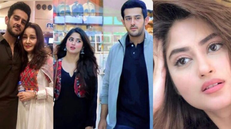 Sajal Aly Shares An Eye To Eye Intense With Azaan Sami