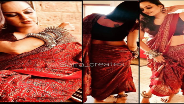 Javeria Abbasi Recently Posted Bold Pictures In Saree