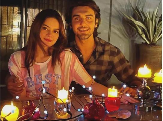 Couple To Be Minal Khan & Ahsan Mohsin At Mini Honeymoon