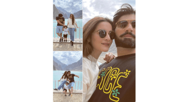 Aiman Khan Shares Some Adorable Glimpses From Hunza