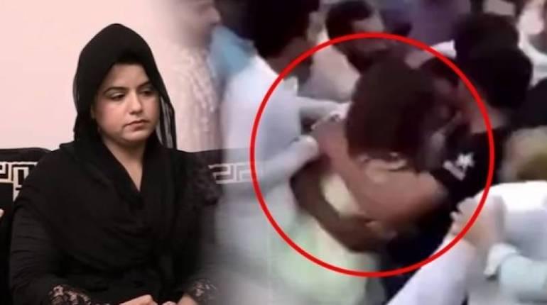 Lahore police register case against manhandling of TikToker at Minar-e-Pakistan