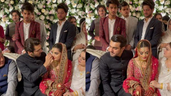 Aiman Khan Breaks Down During Minal Khan Nikkah
