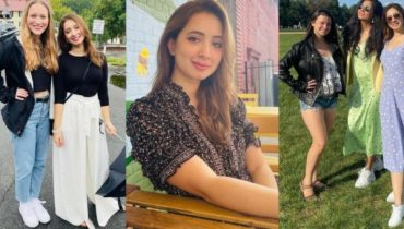 Komal Aziz Khan Vacationing With Friends In USA