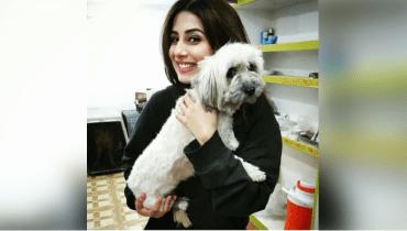 Ushna Shah celebrates her pet dog birthday with STYLE