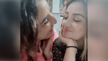 Hareem Shah crosses boundaries with kiss to friend Sundal
