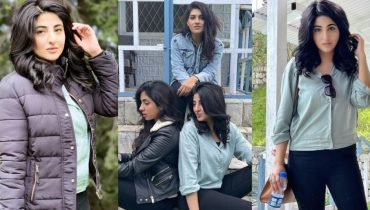 Fatima Sohail enjoying vacations in Northern Areas with Friends