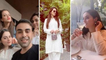 Aiman Khan Is Enjoying Her Free Time With Close Friends