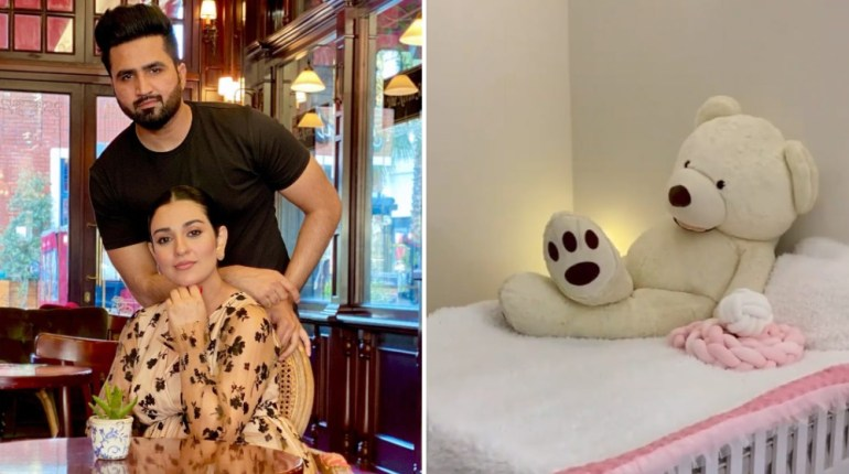 Sarah and Falak Flaunt Preparations For Their Baby Girl
