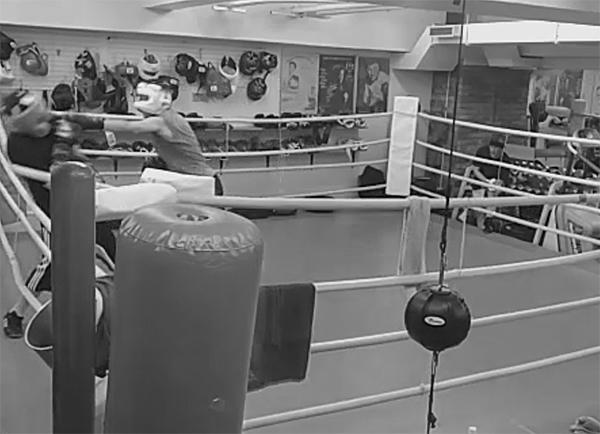ボクシング スパー