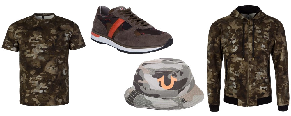 wear camouflage print