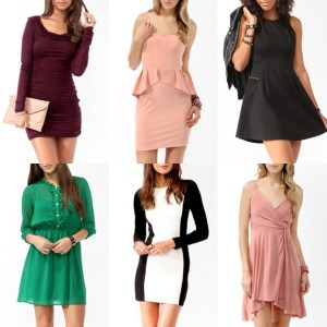 Dresses for different Silhouettes