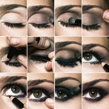 steps for eye shadow application