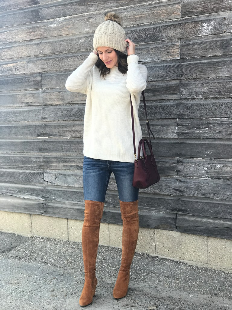 Beanies and Over the Knee Boots