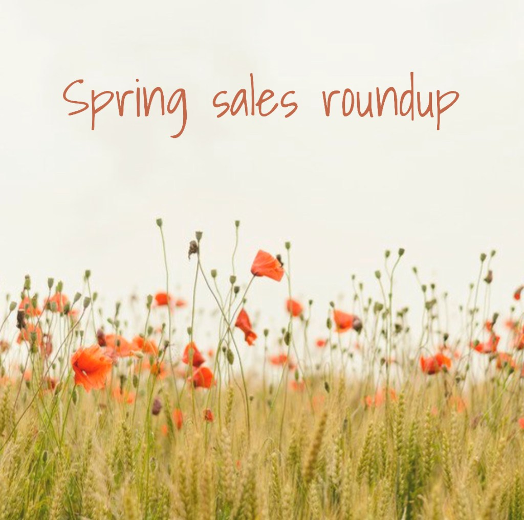 Spring Sales Roundup