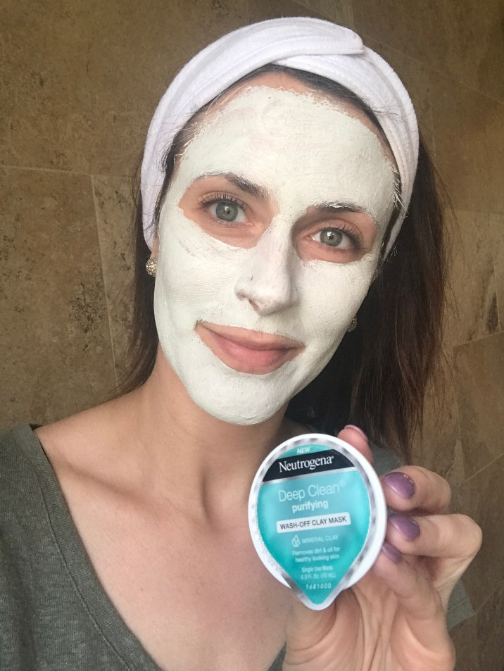 Neutrogena Clay Mask Done Application