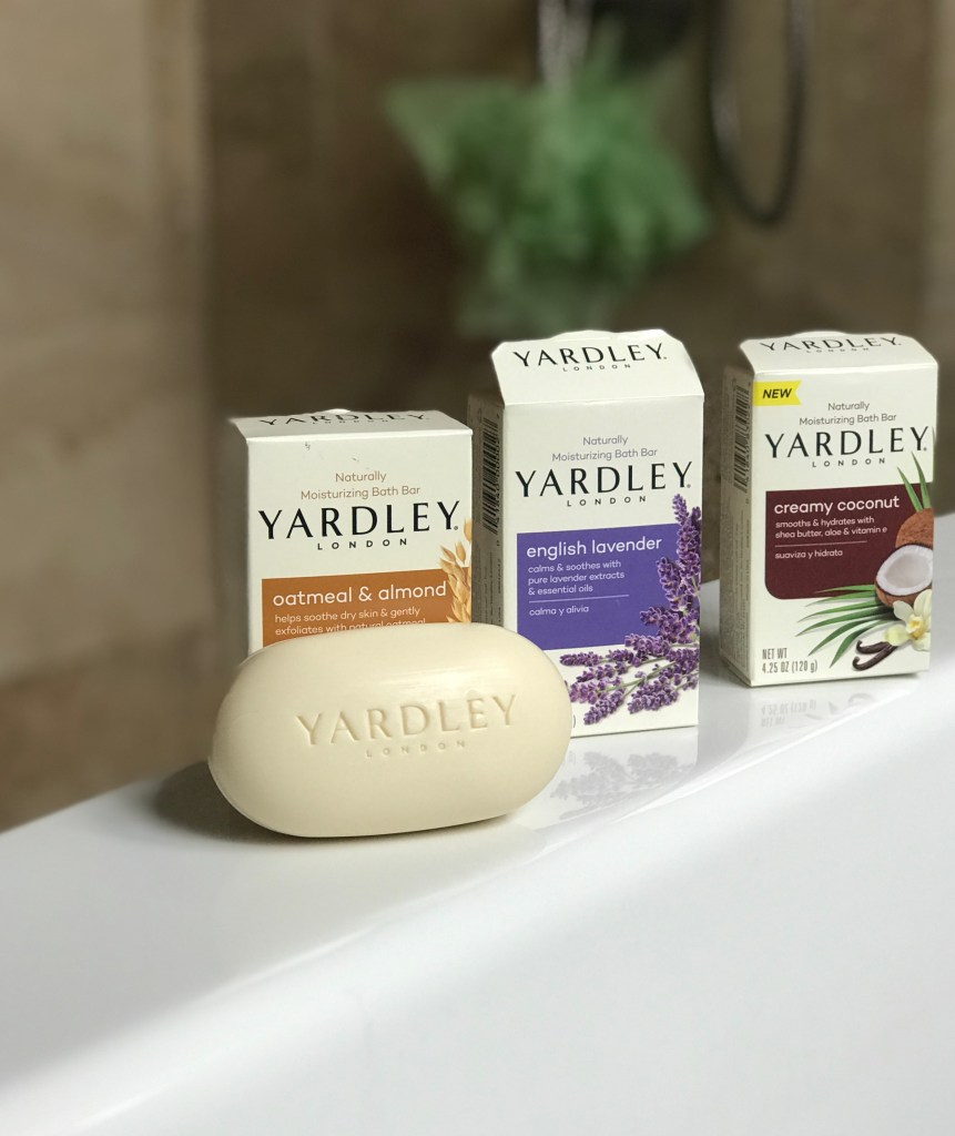 How I Relax with Yardley Soaps