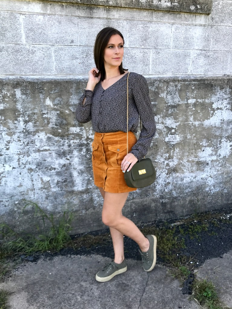 Fall Fashion // Corduroy Skirts