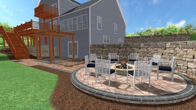 Patio rendering 2