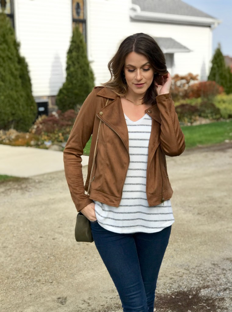 Fall Fashion // Suede Jackets