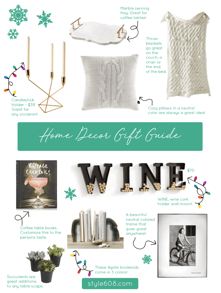 The Home Decor Gift Guide
